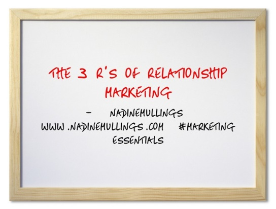 The 3 R's of Relationship Marketing