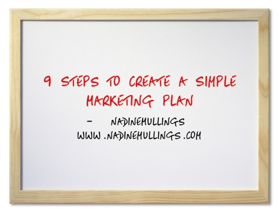 9 Steps to Create a Simple Marketing Plan